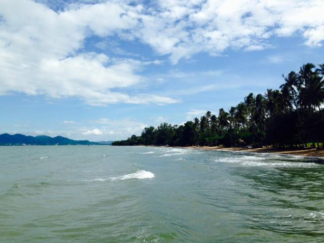 View from the pier. Image: Ah Leang.